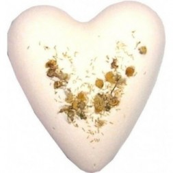 Megafizz Bath Bomb Heart - Chamomile and Honey