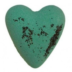 Megafizz Bath Bomb  Heart - Get Fresh Mint