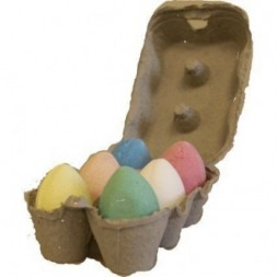 Box of 6 Bath Eggs -mixed