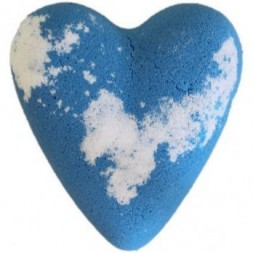 Megafizz Bath Bomb Heart - Adam  - Blue