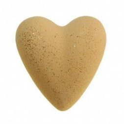 Christmas Day Bath Bomb Heart - Yellow