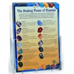 'Healing Power Of Crystals' Information Cards