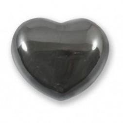 Hematite Heart Large