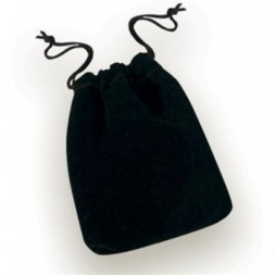 Black Drawstring Pouch Small