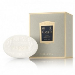 Floris Rose Geranium Luxury Soap 3 X 100g