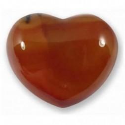 Carnelian Heart Large
