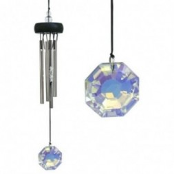 Crystal Precious Stone Wind Chime
