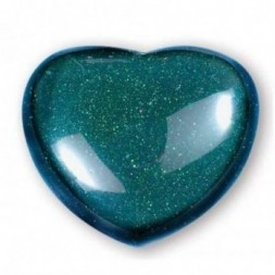 Green Goldstone Heart Large