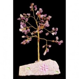 Amethyst Gemstone Tree - 80 stones