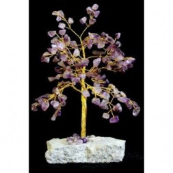 Amethyst Gemstone Tree - 160 stones