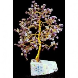 Amethyst Gemstone Tree - 320 stones