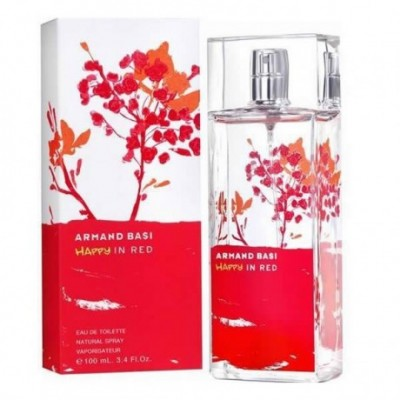Armand Basi Happy In Red Eau De Toilette Spray 100ml