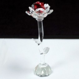 Crystal Rose - Red