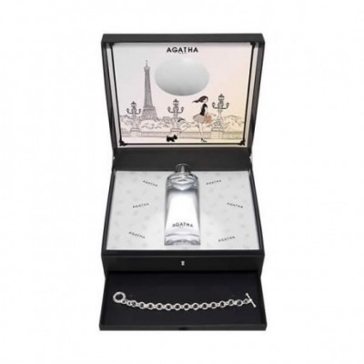 Agatha Un Soir A Paris Eau De Toilette Spray 100ml Set 2...