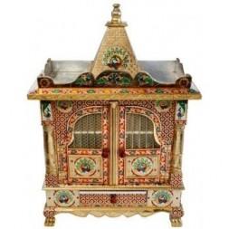 Decorated Hindu Temple