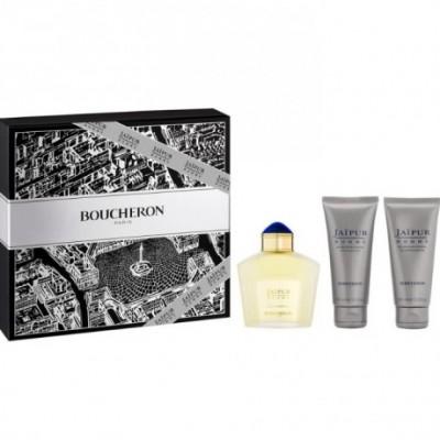 Boucheron Jaipur Homme Eau De Perfume Spray 100ml Set 3...