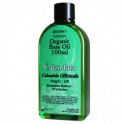Calendula 100ml Organic Base Oil