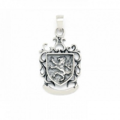 Dragon Wing Silver Pendant