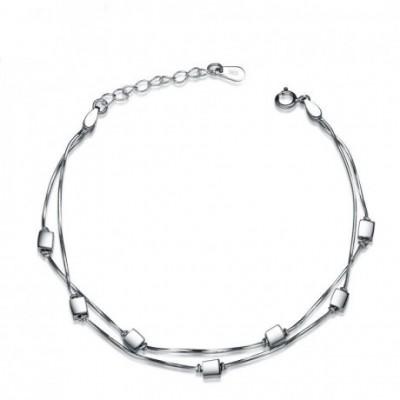 Box Prom Silver Bracelet