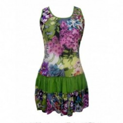 Multicoloured Flower Design Sundress