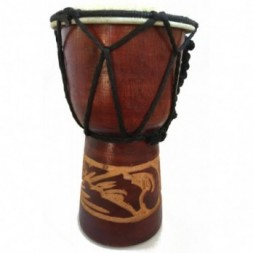 Authentic African Style 15 cm Hand Carved Djembe Drum