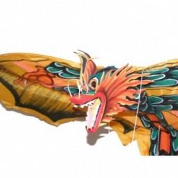 Balinese Dragon Kite - Yellow