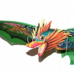 Balinese Dragon Kite - Green