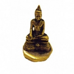 Buddha -  Stamp  seal - Brass Figurine
