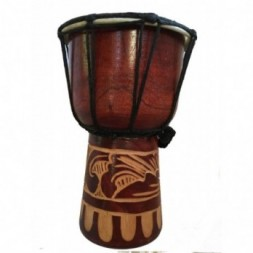 Authentic African Style 20cm Hand Carved Djembe Drum