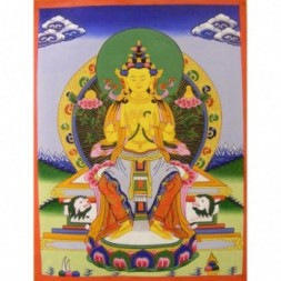 White Tara, Goddess of Compassion Thangka Painting