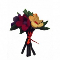 Handmade Felt Flower Bouquet