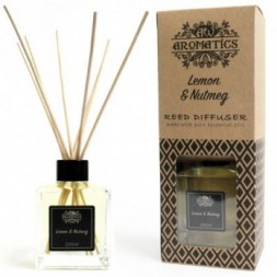Lemon and Nutmeg Essential Oil Reed Diffuser