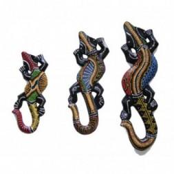 Balinese Geckos - Set of 3
