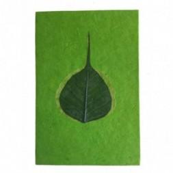 Nepali Lokta Paper Peepal Leaf Notepad