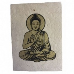 Lokta Paper Lord Buddha Notebook