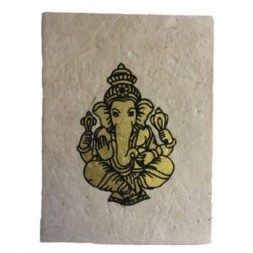 Lokta Paper Lord Ganesh Notebook
