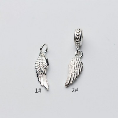 Angle's Wing Silver Charm