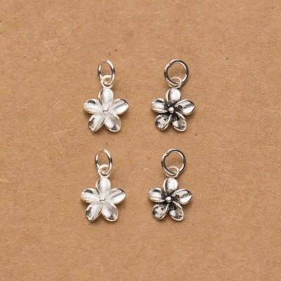 BAuminia Flower Silver Charm
