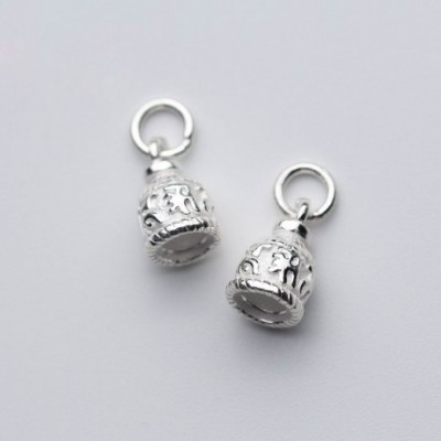 Bell Silver Charm