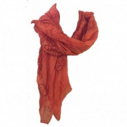 Orange Ram Nami Scarf