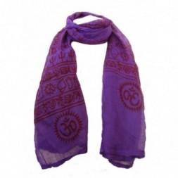 Purple Ram Nami Scarf