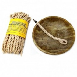 Cedar Rope Incense - 6 Bundles