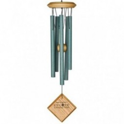 Mercury Wind  Chime  - Verdigris