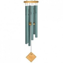 Earth  Wind Chime Verdigris