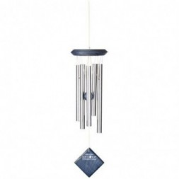 Mars Wind Chime Silver - Blue Wash Finish