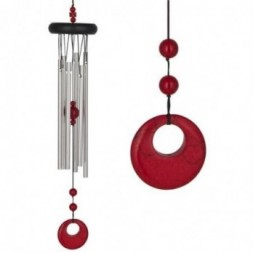 Red Coral Chakra Wind Chime -  Large