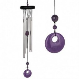 Amethyst Chakra Wind Chime Large