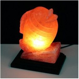 Fish Shaped Himalayan Salt Lamp