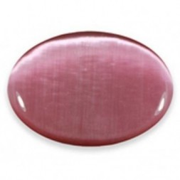 Cat's Eye Palmstone Pink
