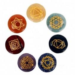 Chakra Sodalite Stones Set - Small